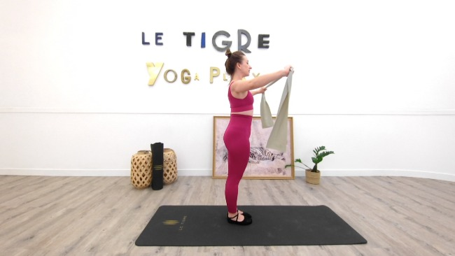 Work out barre : Bras & Taille